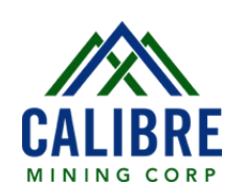 Calibre Mining logo