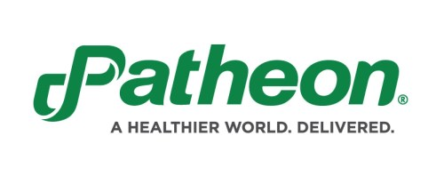 Patheon N.V. Ordinary shares, p logo